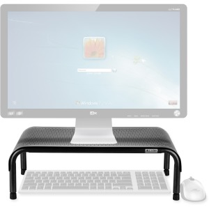 Allsop Metal Art Ergo 3 Adjustable Height Monitor Stand 15-Inch Wide Platform - (31630)