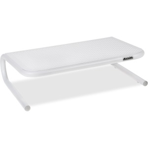 Allsop Metal Art Jr. Monitor Stand 14-Inch Wide Platform - White (31881)