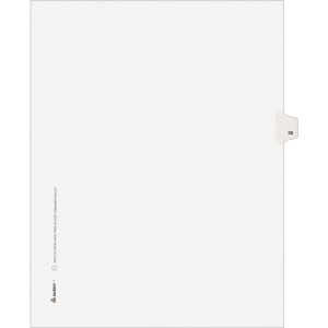 Avery® Individual Legal Exhibit Dividers - Avery Style