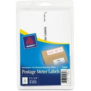 Avery® Postage Meter Labels for Personal Post Office