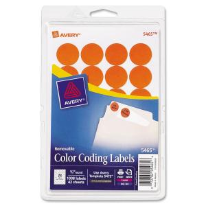 Avery® Color-Coding Labels