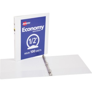 Avery® Economy View Binder - without Merchandising