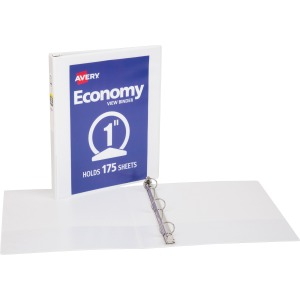 Avery® Economy View Binders with Round Rings - without Merchandising