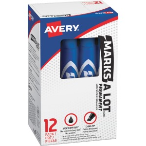 Avery&reg Regular Desk Style Permanent Markers