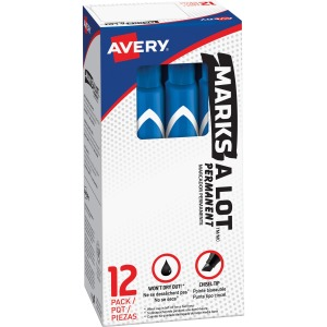 Avery® Large Desk-Style Permanent Markers