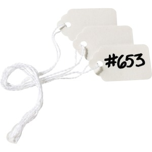 Avery® White Marking Tags