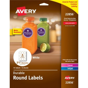 Avery® Durable Round Labels