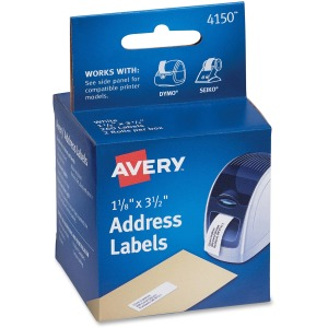 Avery® Thermal Labels - 2 Rolls