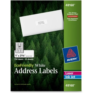 Avery® EcoFriendly Address Labels