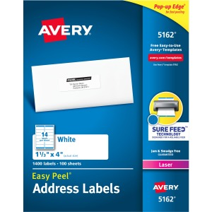 Avery® Easy Peel Address Labels - Sure Feed