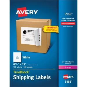 Avery® Shipping Labels - TrueBlock