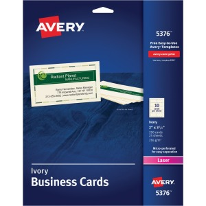 Avery® Laser Print Business Card
