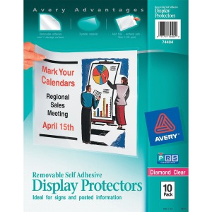 Avery&reg Display Protectors
