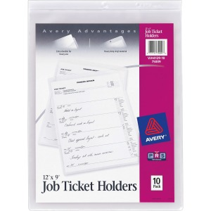 Avery&reg Job Ticket Holders