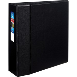 "Avery® 4"" Heavy Duty Binder, One-Touch EZD Ring, Black, 780 Sheets"