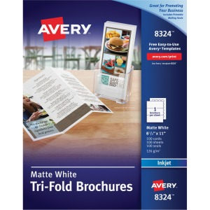 Avery® Inkjet Brochure/Flyer Paper