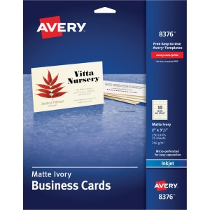 Avery® Inkjet Print Business Card