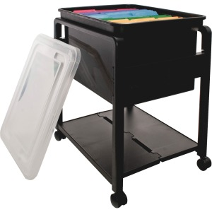 Advantus Folding Mobile Filing Cart