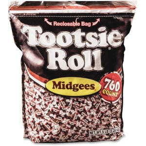 Tootsie Advantus Roll Midgees Candy