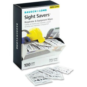 Bausch + Lomb Sight Savers XL Equipment Wipes