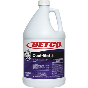 Betco Quat-Stat 5 Disinfectant Gallon