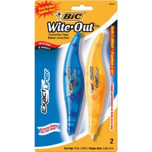 BIC Exact Liner Wite-Out Brand Correction Tape