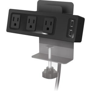 Balt Clamp Mount Outlet & USB Charger