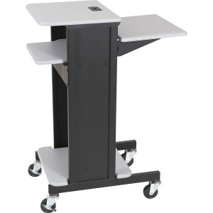 MooreCo 3-Shelf Presentation Cart
