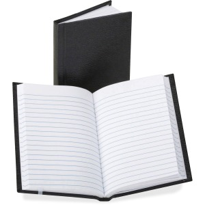 TOPS Boorum Vinyl Cover Faint Ruled Memo Book