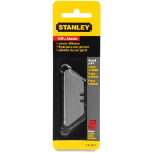 Stanley Round-Point Utility Knife Blades