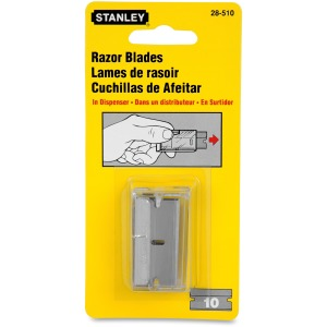 Stanley Single Edge Razor Blades