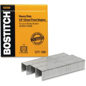 "Bostitch 1/2"" Heavy Duty Chisel Point Staples 1000"