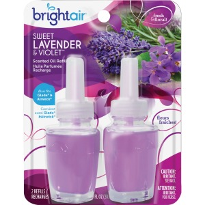 Bright Air Swt Lavender/Violet Scented Oil Refills