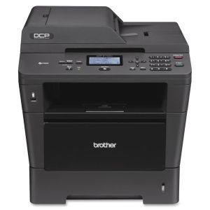 Brother DCP-8110DN Laser Multifunction Printer - Monochrome - Plain Paper Print