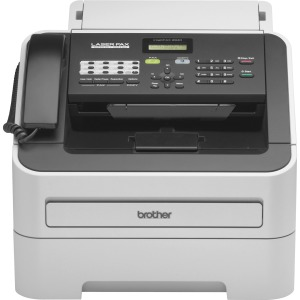 Brother IntelliFAX FAX-2940 Laser Multifunction Printer - Monochrome - Gray