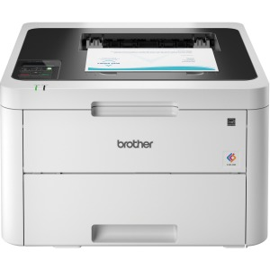 Brother HL-L3230CDW Compact Digital Color Printer Providing Laser Quality Results with Wireless and Duplex Printing