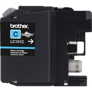 Brother Genuine Innobella LC101C Cyan Ink Cartridge