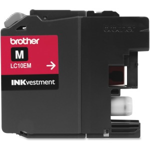 Brother Genuine LC10EM INKvestment Super High Yield Magenta Ink Cartridge