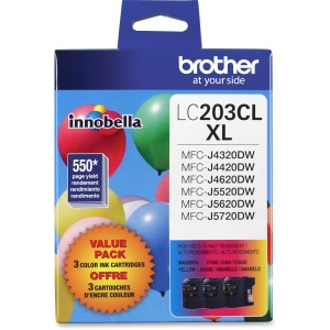 Brother Genuine Innobella LC2033PKS High Yield Ink Cartridges