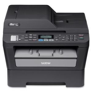 Brother MFC-7460DN Laser Multifunction Printer - Monochrome - Plain Paper Print - Desktop