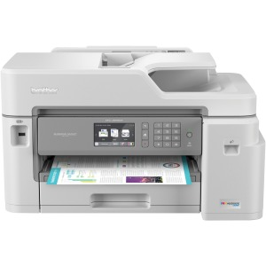 Brother MFC-J5845DW INKvestment Tank Color Inkjet All-in-One Printer with Wireless, Duplex Printing and Up to 1-Year of Ink In-box