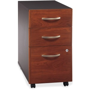 Bush Business Furniture Series C 3 Drawer Mobile Pedestal - Assembled