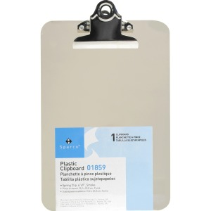 Business Source Compact Plastic Clipboard