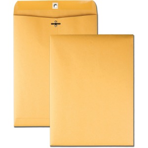 Business Source 32 lb Kraft Clasp Envelopes