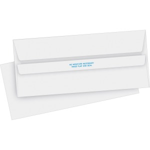 Business Source No. 10 Self-seal Invoice Envelopes