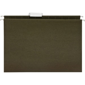 Business Source 1/5 Cut Standard Hanging File Folders
