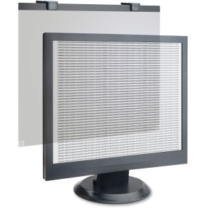 Business Source LCD Privacy/Antiglare Filter Black