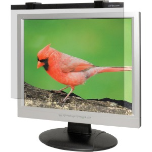 "Business Source 19""-20"" LCD Monitor Antiglare Filter Black"