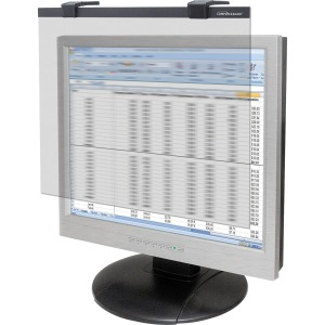 "Business Source 19""-20"" Widescreen LCD Privacy Filter Clear"