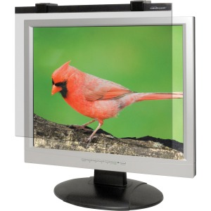"Business Source 19""-20"" Monitor Antiglare Filter Black"